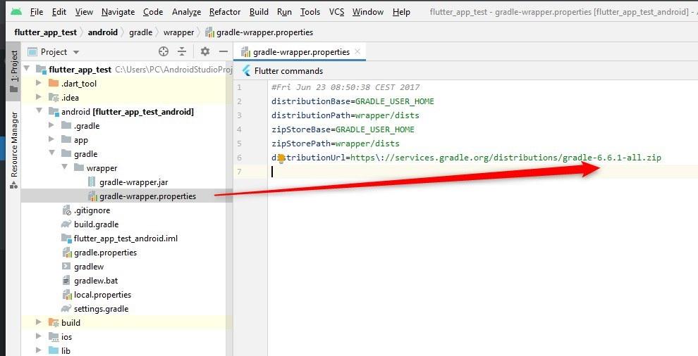 Flutter'da Gradle task assemble Debug failed with exit code 1 Hatasının Çözümü
